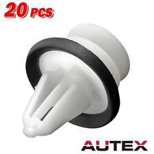 20x Headliner Retenedor de techo para Ford Recortar Clips Sujetador de plástico blanco
