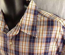 LEVI'S JEANS Plaid Western Shirt Medium NEW Rodeo Cowboy M Short Sleeves NWT