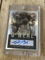 2003-04 Topps Pristine Personal Endorsements Auto Shaquille O'Neal Lakers Shaq