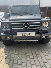 22 GX cherished private personal number plate dateless new gold platinum 4 gift
