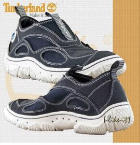 Timberland Men's 11 M Water Shoes Wake Slip On Trekking 30196 Hiking Blue