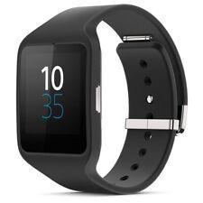 Sony Smartwatch 3 Black SWR50 Watch Wrist Android Bracelet Silicone