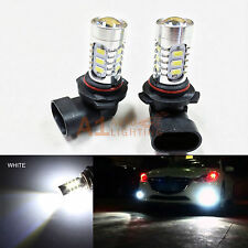 2x White 9006 HB4 15w High Power Bright LED Bulbs 5730 SMD Fog light Replacement