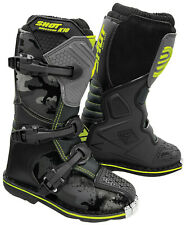 NEW SHOT K10 2.0 KIDS YOUTH CHILDS MOTOCROSS MX OFF ROAD BOOTS CAMO BLACK
