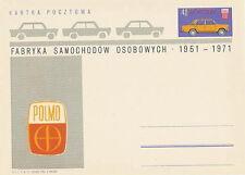 Poland prepaid postcard (Cp 508) motorization