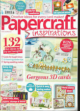 PAPER CRAFT INSPIRATIONS,  MAY, 2017   ISSUE, 164  CREATIVE IDEAS FOR EVERY CARD