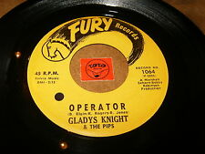 GLADYS KNIGHT & THE PIPS - OPERATOR - I'LL TRUST IN YOU  / LISTEN - SOUL POPCORN