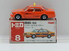 1:62 Nissan Cedric Taxi (Orange) - Made in Japan Tomica 8