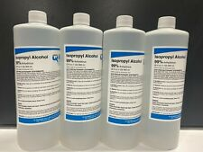 Isopropyl Alcohol 99% Anhydrous 4 Bottles 32 Oz.Each 128Oz 1 Gallon Total