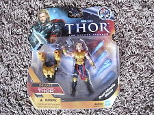 NEW MARVEL DELUXE THOR FIGURE AVENGERS MOVIE UNIVERSE NO CREASES ON CARD EX+