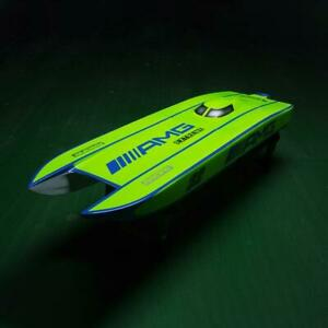 DT E32 Fiberglass Well Painted RC KIT Racing Boat Hull Model for Advanced Player