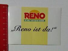 Aufkleber/Sticker: Reno ist da - Die Welt der guten Schuhe (16021782)