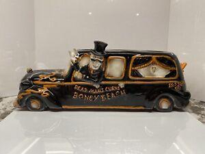 NEW! 2013 Boney Bunch Beach Hearse tea light holder w/original box. #1293468