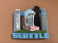 Seattle Washington 3D Magnet Souvenir Travel Refrigerator