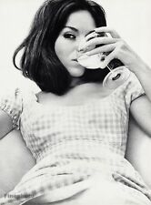 1966 Vintage 16x20 SULTRY SEXY FEMALE Fashion Woman Drinking Wine WINGATE PAINE