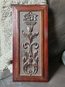 Old/Vintage carved panel wood