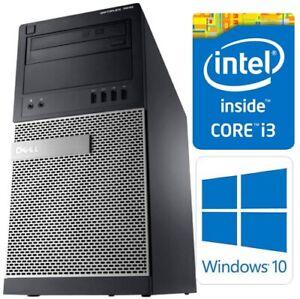 Dell OptiPlex 7010 MT Core i3-3220 8GB 500GB DVDRW WiFi Win10 Pro PC Computer
