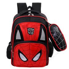 Estudiante Super Hero Spider Man Unisex Poliester Hombro Mochila Bolsa Mochila