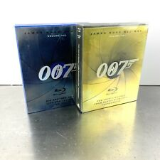 007 James Bond Blu-ray Collection Volume One+Two/1+2 Collectors Box Set 6 MOVIES