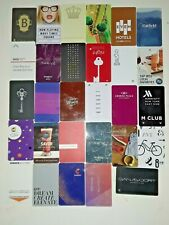DOWNTOWN / UPTOWN OF VARIOUS NEW YORK CITY HOTEL KEY CARD 29