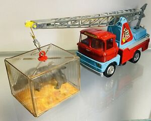 Corgi 1144 Chipperfields Circus Crane Scammell Handyman With Cage Vgc
