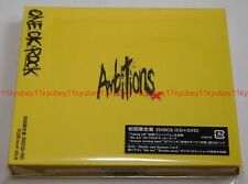 ONE OK ROCK Ambitions First Limited Edition CD+DVD Japan AZZS-56 4562256124207