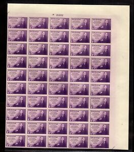 """754 Farley spec printing """" Mothers of America"""" Sheet of 50 Mint,NH"""