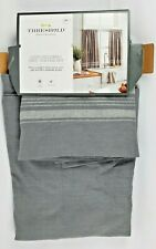"""Light Filtering Cafe Curtain Set Threshold Quality & Design 42"""" x  36"""" NEW"""