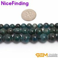 Wholesale Beads Round Natural Kyanite Jewelry Making Gemstone  Beads 4mm 6mm
