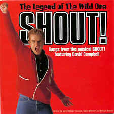 Shout! The Legend of the Wild One (CD Oz Musical Johnny O'Keefe David Campbell)