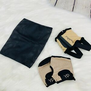 NEW YogaPaws SkinThin Yoga Gloves & Socks Womens Sz 1 XS Tan Hot Yoga OPEN BOX