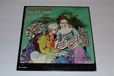 Telemann~Sonata~Trio~Quartets~Music Guild Records~MG-135~FAST SHIPPING