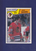Denis Savard HOF 1983-84 O-PEE-CHEE OPC Hockey #111 (NM+) Chicago Blackhawks
