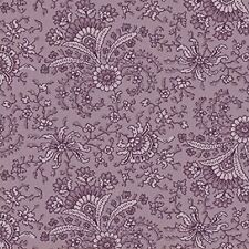 Lavender Fan Floral, Secrets & Shadows Collection, Nancy Gere, Windham By 1/2 Yd