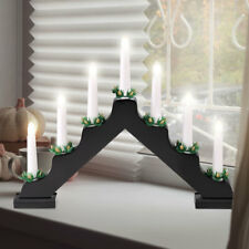 LED lights candle arch black christmas lights living room XMAS light deco advent