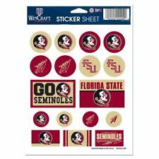 Florida State Seminoles Mini Decals Stickers 17 Stickers per Sheet FAST SHIP