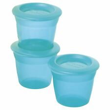 Tommee Tippee Food Pots and Lids Blue