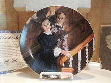 GONE WITH THE WIND MELANIE AND ASHLEY ANNIVERSARY PLATE #11779C w COA & BOX