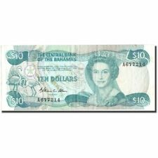 [#213960] Billet, Bahamas, 10 Dollars, Undated (1984- ), KM:46a, TB+