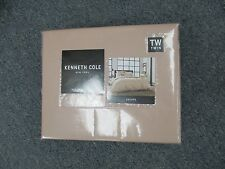 Kenneth Cole New York Twin Duvet Cover Escape Blush Brand New In Package