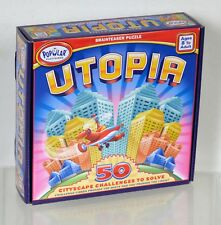 Utopia Brainteaser Puzzle Cityscape Challenge Game