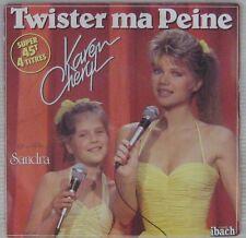 Karen Cheryl 45 tours 1983