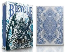 1 DECK Bicycle BLUE Asura playing cards