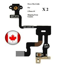 2 x Apple iPhone 4S Power and Proximity Light Sensor Induction Flex Cable