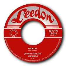 "JOHNNY REBB - ""ROCK ON"" c/w ""HEY SHERIFF"" FANTASTIC OZ ROCK N ROLL - LISTEN"