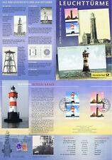 BRD 2004: Leuchttürme! Erinnerungsblatt! 2x Nr 2409+24101 Berliner Stempel! 1706