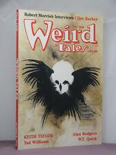signed by 3,Tad Williams, Nina Kiriki Hoffman,Betancourt, Weird Tales, Fall 1988