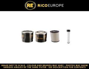 Eurotrac W 12 Filter Service Set Luft Öl Kraftstoff Mit / Kubota V1505-E3B Motor