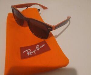 Ray-Ban Junior blue and orange  Square Sunglasses