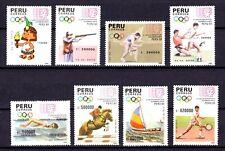Peru Scott 993-1000 Cat $24.00